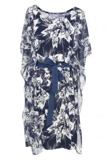Sukienka z falbankami na bokach - FALA-Mailee