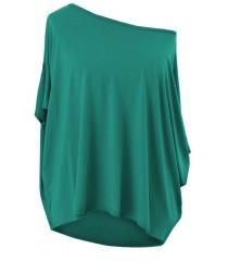 Zielona bluzka oversize DAGMARA