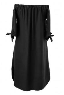 Czarna sukienka hiszpanka - MARITA