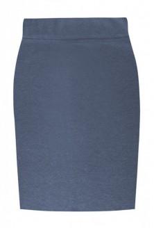 Dzianinowa spódniczka w kolorze JEANSOWYM– AUDREY