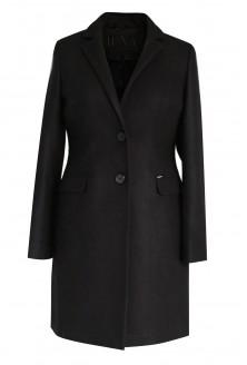 Czarny klasyczny płaszczyk LONDON
