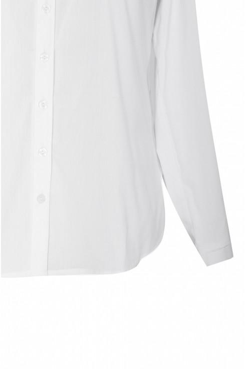 Biała koszula plus size - MURIEL