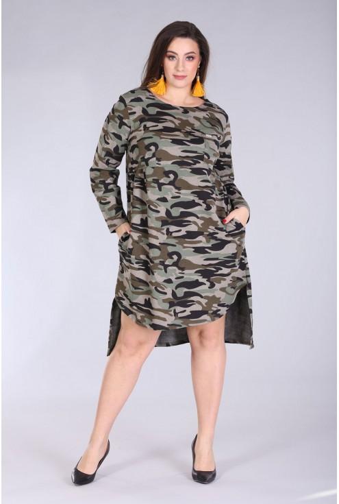 Sukienka / tunika z kieszonką MORO - AURELIE