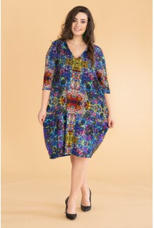 Kolorowa sukienka WZÓR - MARIGOLD