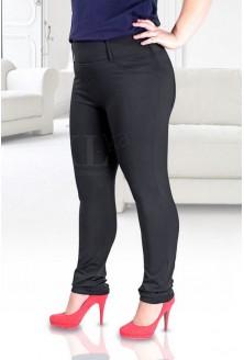Czarne legginsy OCIEPLANE AMELIA