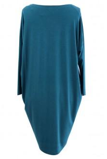 Sukienka oversize z długim rękawem MORSKI - SUSAN 2