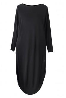 Czarna sukienka w dużych rozmiarach ZOE 2