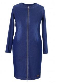 Jeansowa sukienka / płaszczyk z przywieszką - DEMI