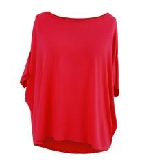 Czerwona bluzka oversize - DAGMARA