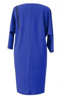 Kobaltowa sukienka z suwakiem VALENTINE