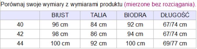 tabela_wymiarow_koszula_milia