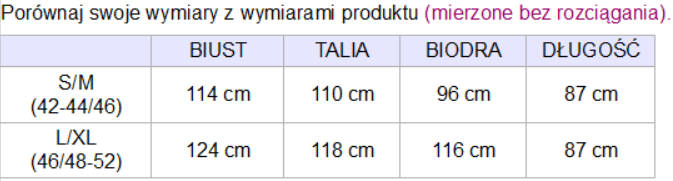tabela_wymiarow_plaszczyk_della
