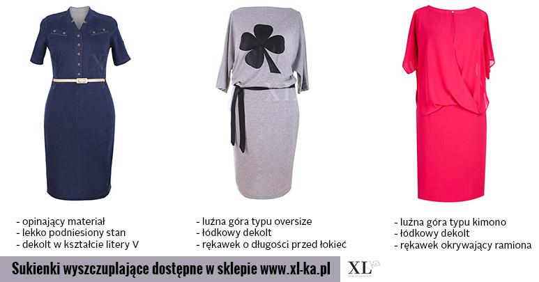93fbe776ef Sukienki wyszczuplające xxl - jak wybrać odpowiednią  -