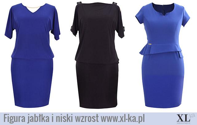 67233a97c7 Sukienki dla Pań o figurze jabłka -