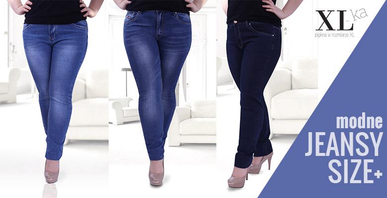 Spodnie jeansowe plus size w sklepie XL ka Blog XL ka