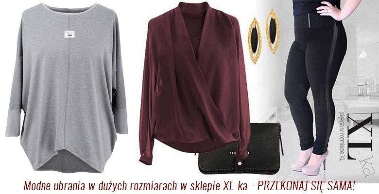 a326e3c58a Ubrania dla niskich kobiet w rozmiarze XL - XL-ka -