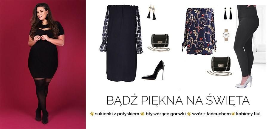 Modowe pomysły listopadowe PLUS SIZE nowa kolekcja XL-ka